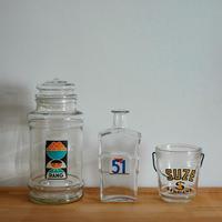 ガラスボトル・ビン(カラー入り)