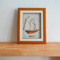 木製フレーム (船)