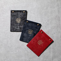 "【THE SUPERIOR LABOR】bridle leather ""Reuse""memo cover"