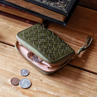【THE SUPERIOR LABOR 】mesh zip small wallet
