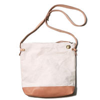 【THE SUPERIOR LABOR 】leather bottom shoulder bag deep L