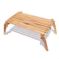 【T.S.L CUB】folding low table(フォールディングローテーブル)