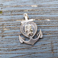 【THE SUPERIOR LABOR】anchor silver charm