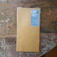 【TRAVELER'S notebook】リフィル クラフトファイル