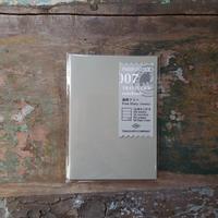 【TRAVELER'S notebook】リフィル 週間フリー パスポートサイズ