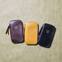 【THE SUPERIOR LABOR 】leather zip pen case