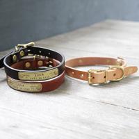 【THE SUPERIOR LABOR】TSL dog collar S (セミオーダー商品)