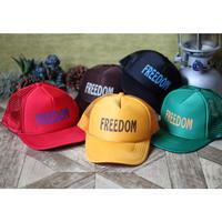 "【T.S.L CUB】mash cap ""FREEDOM"""