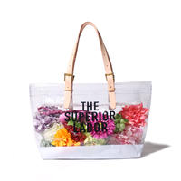 【THE SUPERIOR LABOR】see-through bag M