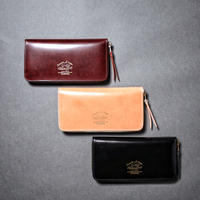 【THE SUPERIOR LABOR】cordovan zip long wallet