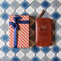 【THE SUPERIOR LABOR】bridle leather zip pen case