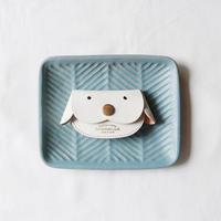【THE SUPERIOR LABOR 】 bridle dog coin case-white