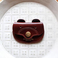 【THE SUPERIOR LABOR 】cordovan bear coin case