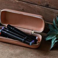 【THE SUPERIOR LABOR 】zip leather box S