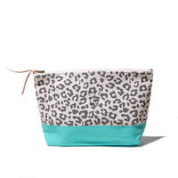【THE SUPERIOR LABOR for woman】leopard pouch L(レオパード ポーチ L)