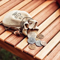 【T.S.L CUB】drawstring pouch (ドローストリング ポーチ)