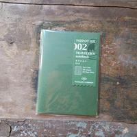 【TRAVELER'S notebook】リフィル セクション パスポートサイズ