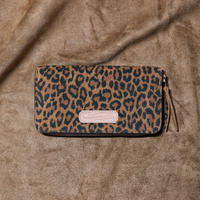 【THE SUPERIOR LABOR 】leopard print  zip long wallet