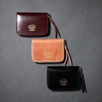 【THE SUPERIOR LABOR】cordovan zip small wallet