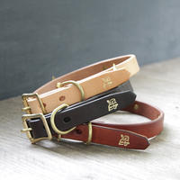【THE SUPERIOR LABOR】TSL dog collar L (セミオーダー商品)