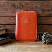 【THE SUPERIOR LABOR 】leather zip organizer