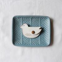 【THE SUPERIOR LABOR 】bridle bird coin case-white