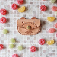 【THE SUPERIOR LABOR 】harness leather bear coin case
