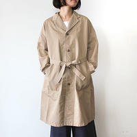 WIDE WORK COAT_BEIGE
