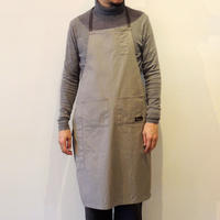 05 4POCKET CANVAS FULL APRON_GRAY