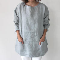 APRON SHIRT_GRAY