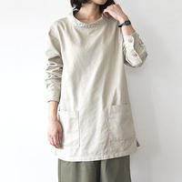 SMOCK WORK SHIRT_BEIGE