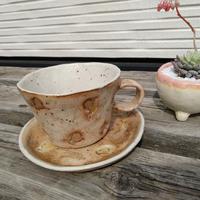 カップ&ソーサ_ギャラリー花matsuri/花の器・食の器 ひろし【奈良きたまち商店街】