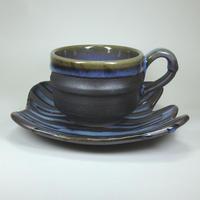 掛け分けコーヒー碗皿