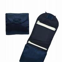 ナラヤ NaRaYa 携帯用 コンパクト 収納 サニタリーケース( 三つ折りタイプ 生理用品 ナプキンポーチ )・サテン(ネイビー) NBS-344A