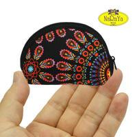 ナラヤ NaRaYa タイ かわいい手のひらサイズ シェル型ポーチ 化粧ポーチ ・エスニック NB-187 送料無料