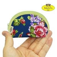 ナラヤ NaRaYa タイ かわいい手のひらサイズ シェル型ポーチ 化粧ポーチ ・イングリッシュガーデン NB-187 送料無料
