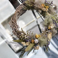 workshop:6/30(日) 16:00-18:00  Smoke tree  wreath