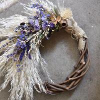workshop:10/24(木) 19:00-21:00  pampas wreath