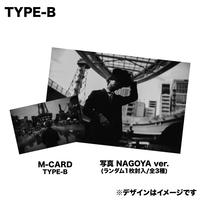 "【TYPE-B】TENKI 1st Single ""Shutter"" 完全限定M-CARD"