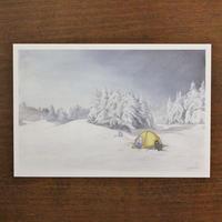 冬の夜(ポストカード)
