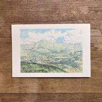 笠置山、ふるさとを抱く恵那山