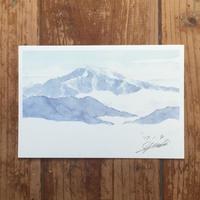 雲海と恵那山
