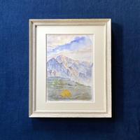「剱岳の朝日」複製画