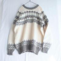 Made in Scotland Gray Nordic sweater