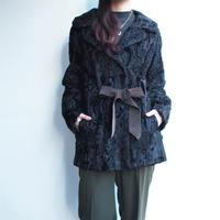 ~1950'sAstrakhan  Fur Coat