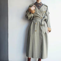 Burberrys Hand finished in England khaki trench coat