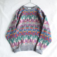 Geometrical pattern sweater