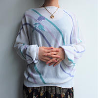 Summer knit dolman sleeve