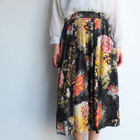 Made in W.Germany pleats skirt