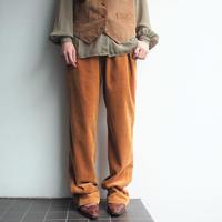 太畝Corduroy straight pants